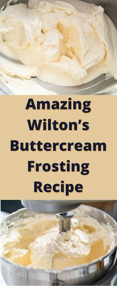 Wilton Cake Decorating Frosting Recipe, Wilton Buttercream Frosting, Cake Decorating Set, Frosting Recipes, Cake Recipes, Dessert Recipes, Frosting Without Butter, Canned Frosting, Birthday Ideas
