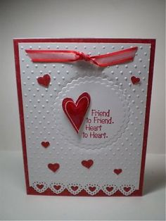 Double embossing with Cuttlebug and nestabilities