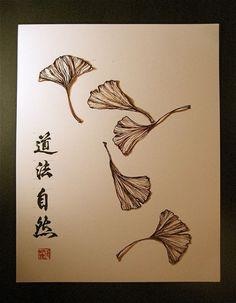 symbolism of gingko leaf - Google Search