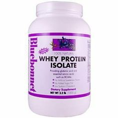 Bluebonnet Whey Protein Isolate Original - 2.2 lb - Powder by Bluebonnet. $27.80. Whey Protein Isolate Original 2.2 lbs Powder   Bluebonnets 100% Natural Whey Protein Isolate Powder is one of the purest, undenatured whey protein products on the market containing 26 g of protein/serving with no artificial flavors or sweeteners. Whey protein not only has the highest biological value (BV) of any protein, it is also fast-acting, which means that its naturally occurring immunog...