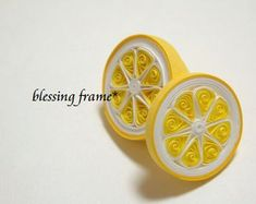 Quilled Lemon