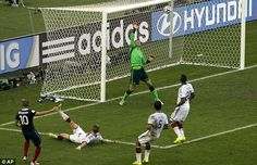 Au revoir: Neuer's fine save from Benzema was France's last chance of the game as Germany ...