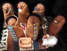 Nativities Around The World Christmas Nativity Set, Christmas Wood, 1st Christmas, Christmas Design, Nativity Sets, Christmas Holidays, Christmas Crafts, Christian Christmas, Christmas Ideas