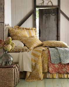 """""""Madeline"""" Bed Linens by Pine Cone Hill at Horchow. - I LOVE PINE CONE HILL BEDDING"""