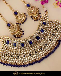 Discovered by Find images and videos on We Heart It - the app to get lost in what you love. Wedding Jewellery Designs, Fancy Jewellery, Stylish Jewelry, Fashion Jewelry, Indian Bridal Jewelry Sets, Indian Jewelry Earrings, Bridal Accessories, Gold Jewelry, Jewelery