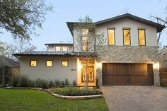 Contemporary European Modern House Plans from Houseplans.com : House Plan 449-8