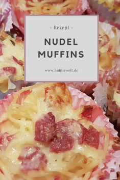 Noodle Muffin Recipe Delicious Food Cooking Bake for Kids Snacks Food Hearty with . , Noodle Muffin Recipe Delicious Food Cooking Baking for Kids Snacks Eating hearty baked with cheese. Muffin Recipes, Baby Food Recipes, Food Network Recipes, Snack Recipes, Cooking Recipes, Kind Snacks, Healthy Snacks, Kids Meals, Easy Meals