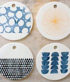 decorative porcelin cheese platters