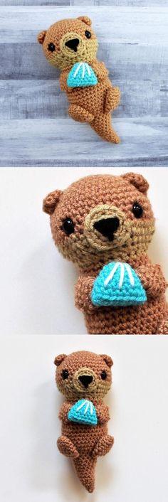 Emmet the Otter amigurumi pattern