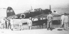 """A Aichi E16A """"Zuiun"""" reconnaissance plane"""