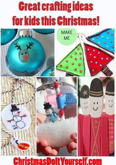 Great Christmas crafting ideas for your kids to make this holiday season