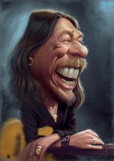 Great Illustrations by Tiago Hoisel pics) Funny Caricatures, Celebrity Caricatures, Cartoon Drawings, Cartoon Art, Luis Gonzaga, Cartoon Character Pictures, Conceptual Drawing, Black And White Cartoon, Cinema Tv