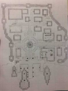 A completed floor plan of my upcoming small town. Time to get to work. - Imgur
