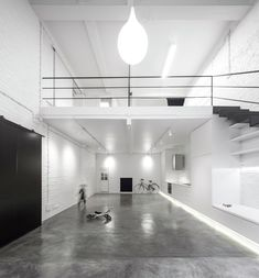 Completed in 2015 in Lisbon, Portugal. Images by Fernando Guerra | FG+SG. The existing space used to be a small abandoned lighting products factory facing the inside of a very disqualified block in the neighbourhood of...