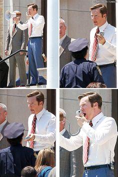 Benedict Cumberbatch filming 'Black Mass' - 30-6-2014