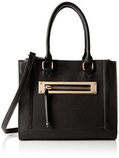 Call It Spring Oldtown Tote Bag, Black, One Size >> READ REVIEW @: http://www.passion-4fashion.com/handbags/call-it-spring-oldtown-tote-bag-black-one-size/