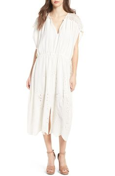 Main Image - ASTR the Label Embroidered Caftan