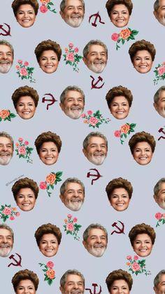 WALLPAPERS - Dilma & Lula - @GabrielRLarrieu - Imgur
