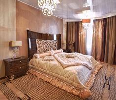 как выбрать цвет штор и покрывала для спальни