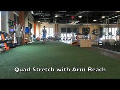 Dynamic Stretches for Runners Stretches For Runners, Quad Stretch, Dynamic Stretching, Running, Fitness, Youtube, Racing, Keep Running, Jogging