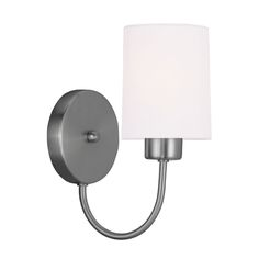 Sussex Brushed Nickel One Light 9.5-Inch Wall Sconce
