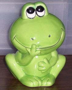 I have a frog thing . . .