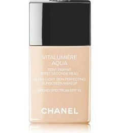 CHANEL - VITALUMIÈRE AQUA Ultra–Light Skin Perfecting Makeup Instant Natural Radiance SPF 15 | Selfridges.com