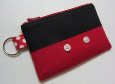 Totally Cute Minnie and Mickey Mouse Inspired Wallets