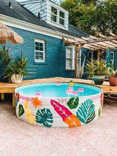Stock Pools, Stock Tank Pool, Outdoor Fun, Outdoor Spaces, Outdoor Living, Outdoor Decor, Diy Pool, Pool Fun, Stylish Home Decor