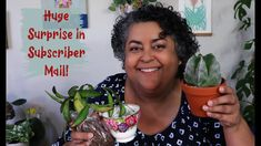 Subscriber Plant Mail Unboxing | Huge Surprise in Subscriber Mail Vintage Plates, Balcony Garden, Container Gardening, House Plants, Sassy, Succulents, Cups, Vintage Signs, Mugs