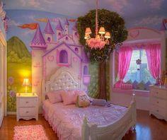 cuarto de princesas!! hermoso