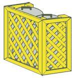 diy garbage can enclosure | trash can enclosure plans trash can enclosure plans dolly trash can