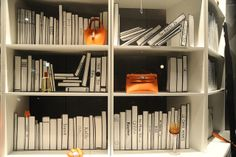 the Hermes bookcase, pinned by Ton van der Veer