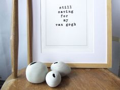 Funny Typographic Art Print  Perfect house warming by Alfamarama, £18.00