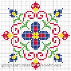 Biscornu chart by angela
