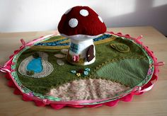 tiny toadstool cottage