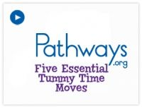 Great video on Tummy Time and the 5 Essential #TummyTime moves
