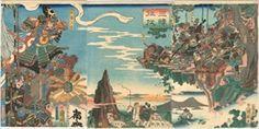 豊原国周  1860_三韓征伐, 加藤清正