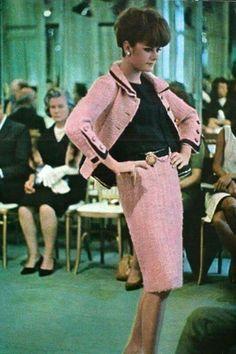 Chanel haute couture, Paris 1965