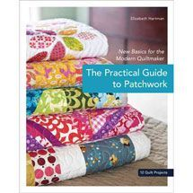 A really great beginner quilt book. The Practical Guide to Patchwork: New Basics for the Modern Quiltmaker, 12 Quilt Projects: Elizabeth Hartman. Free Motion Quilting, Quilting Tips, Quilting Tutorials, Machine Quilting, Quilting Projects, Sewing Projects, Sewing Tips, Sewing Ideas, Art Quilting