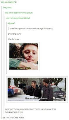 The supernatural fandom rules the world
