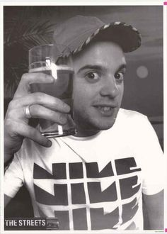 The Streets Mike Skinner Poster 25x35