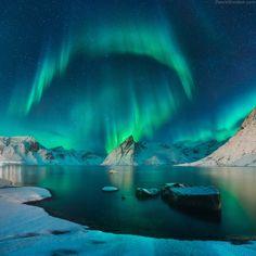 Aurora by Daniel Kordan (Norway)