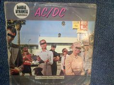 AC/DC, Double Dynamite,South Africa Press,Dirty Deeds and High Voltage.ATD11819 #HardRock