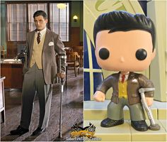 Daniel Sousa || Custom POPS by Saberfiretiger || #fanart ONG YES YES I WANT A TINY AGENT SOUSA