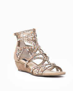 Embellished gladiator sandals