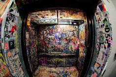 Street art/Graffiti/Lift/Open Up