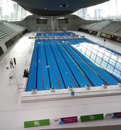 London 2012 Aquatics Centre to open to public this week