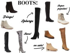 Must-Have Boots for Fall + Stuart Weitzman & Nordstrom Giveaway!