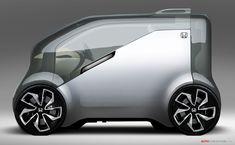 Honda Previews 'NeuV' Concept Car Ahead of CES 2017 Debut